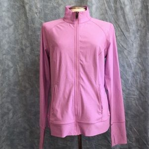Xersion Lavender Zip Up Stretchy Sport Jacket